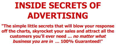 Inside Secrets of Advertising